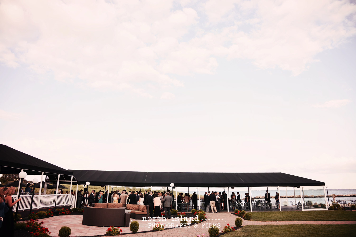 Photo: Beachfront Patio Wedding